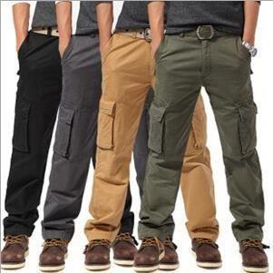 de poches Surprise pantalons Homme multi loisirs Homme pantalon Khaki Cargo xwUI047q6