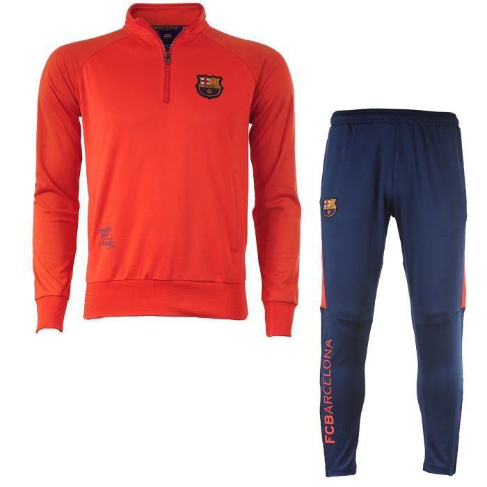 Survêtement Training BARCA - Collection officielle Fc Barcelone ... 258a1abe2d6