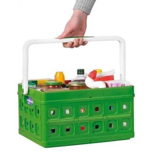 BAC de rangement plastique pliable avec poignée... - Achat / Vente etabli - meuble atelier BAC ...
