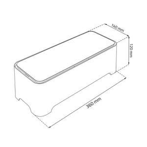 boite de rangement pour cables electrique achat vente boite de rangement pour cables. Black Bedroom Furniture Sets. Home Design Ideas