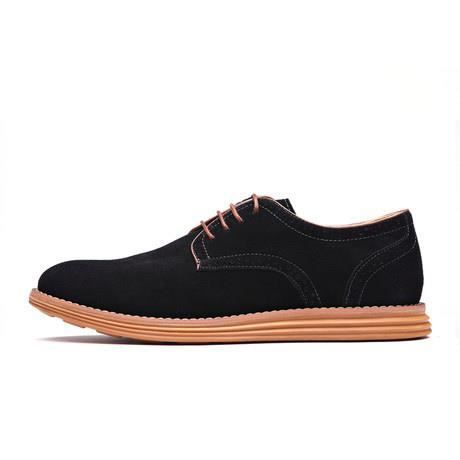 Chaussures pour hommes occasionnels chaussures en daim chaussures grande taille