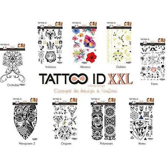 Tattoo Id Xxl Polynesien Tribal Maori Tatouage Ephemere Temporaire