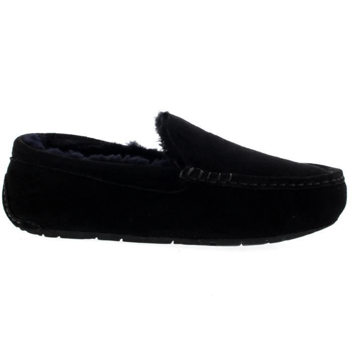 Mocassins Hommes Maison Suede Mocassins Chaussures Chaussons ZCPNN Taille-47