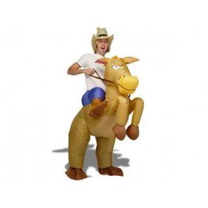 DÉGUISEMENT - PANOPLIE Un bluffant déguisement  de cow boy gonflable