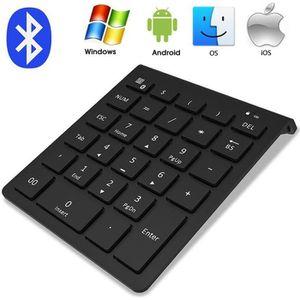 PAVÉ NUMÉRIQUE Bluetooth Clavier numérique externe de 23 touches