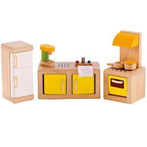 DINETTE - CUISINE Cuisine pour maison de poupée Hape E3453