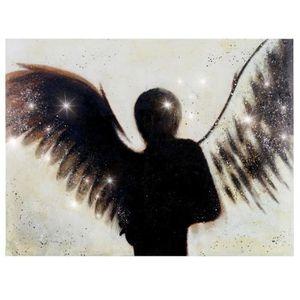 TABLEAU - TOILE Tableau à l'huile, ange, peint à la main à 100%, t