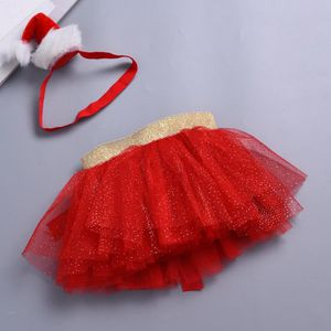 3755b53517e28 JUPE Bébés filles Enfants Noël Tutu Ballet Jupes Fancy