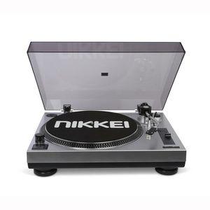 FEUTRINE DJ Platine vinyle àentraînement direct,équipée d'un