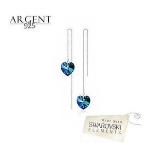 Boucles d 39 oreilles swarovski elements achat vente pas - Boucle d oreille swarovski pas cher ...