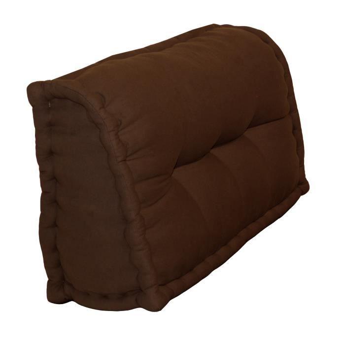 coussin de sol marron achat vente pas cher cdiscount. Black Bedroom Furniture Sets. Home Design Ideas
