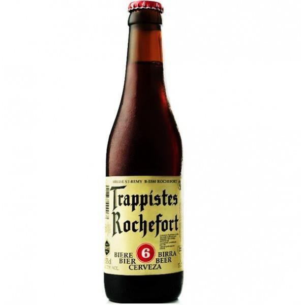 BRASSERIE ROCHEFORT 6 Belgian Strong Ale Bière Brune - 33 cl - 7,5 %
