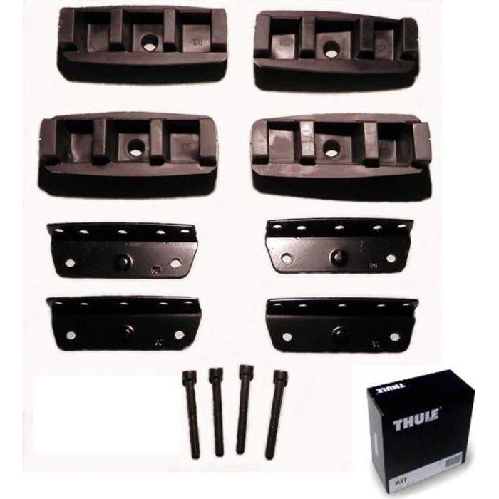 Kit d'Adaptation Fixpoint pour une fixation optimale des barres de toit pour voiture Jeep Compass.BARRES DE TOIT - ADAPTATEUR BARRE DE TOIT