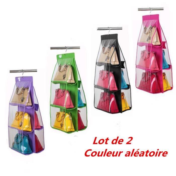 rangement pour sac a main achat vente pas cher. Black Bedroom Furniture Sets. Home Design Ideas