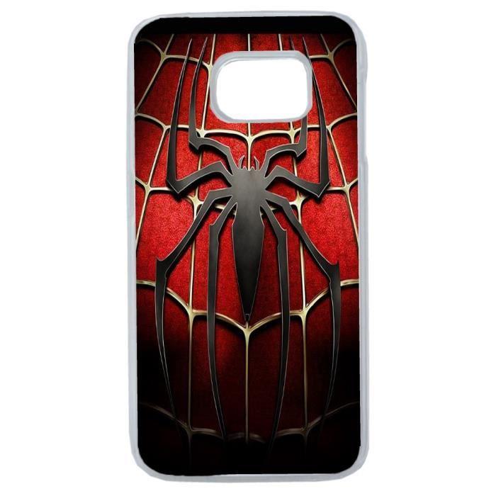 coque samsung s6 edge spider man