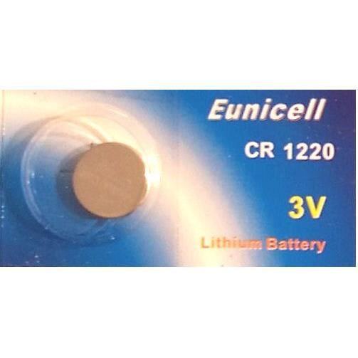 Eunicell - 1 Pile Lithium CR1220 BR1220 DL1220 EC - Achat   Vente ... b31373c4aa04