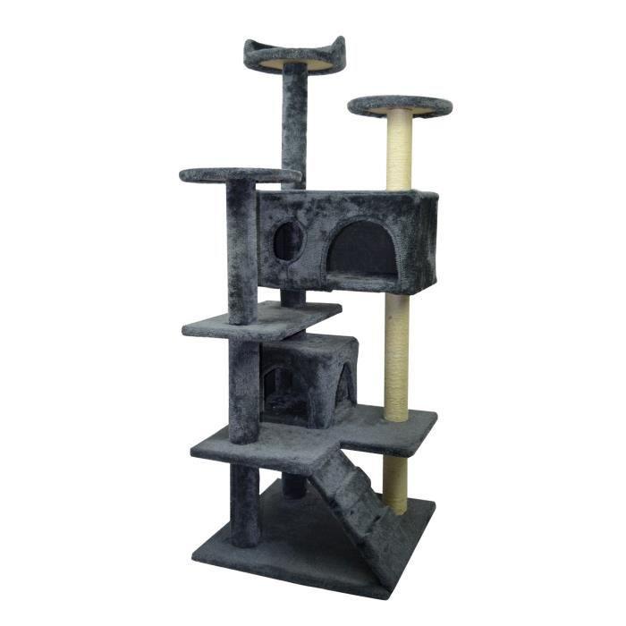 arbre a chat pour grand chat achat vente arbre a chat pour grand chat pas cher cdiscount. Black Bedroom Furniture Sets. Home Design Ideas