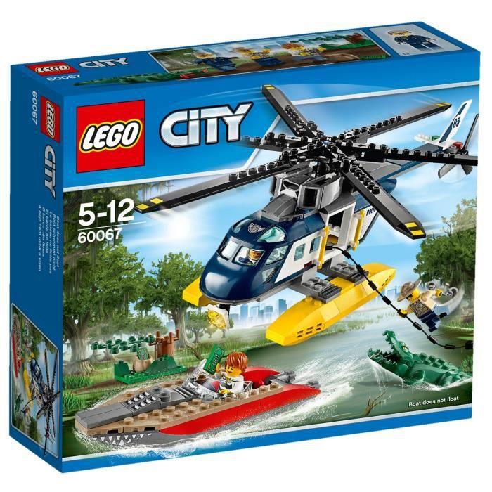Lego City 60067 La Poursuite En Hélicoptère Achat Vente