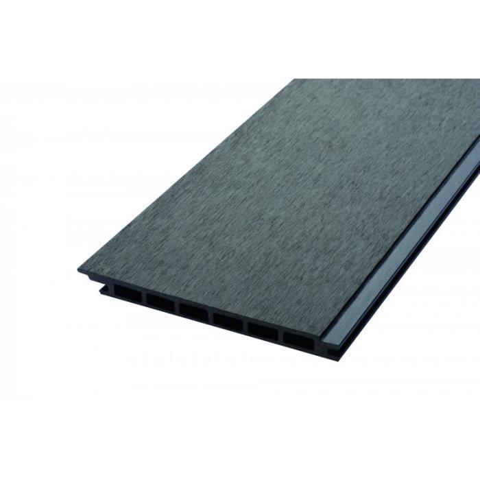 BARDAGE - CLIN Lame de bardage bois composite alvéolaire - L: 270