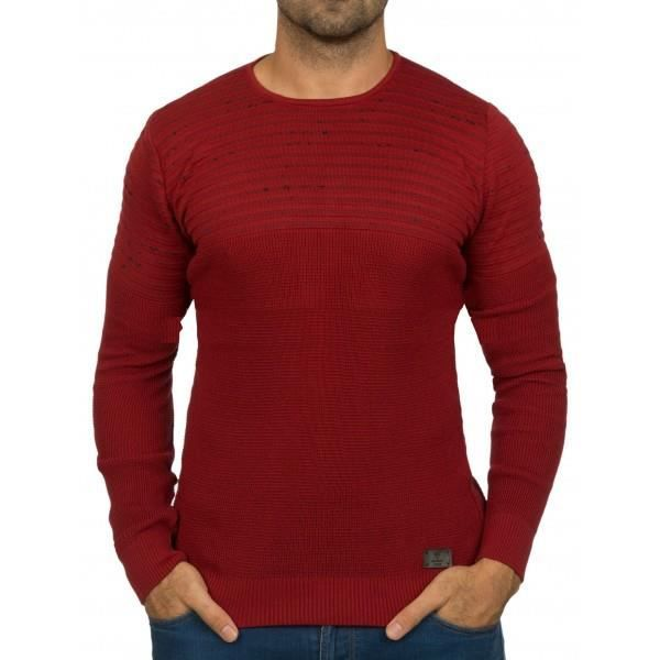 27ff0932f26 Pull homme classe rouge Rouge Rouge - Achat   Vente pull - French ...