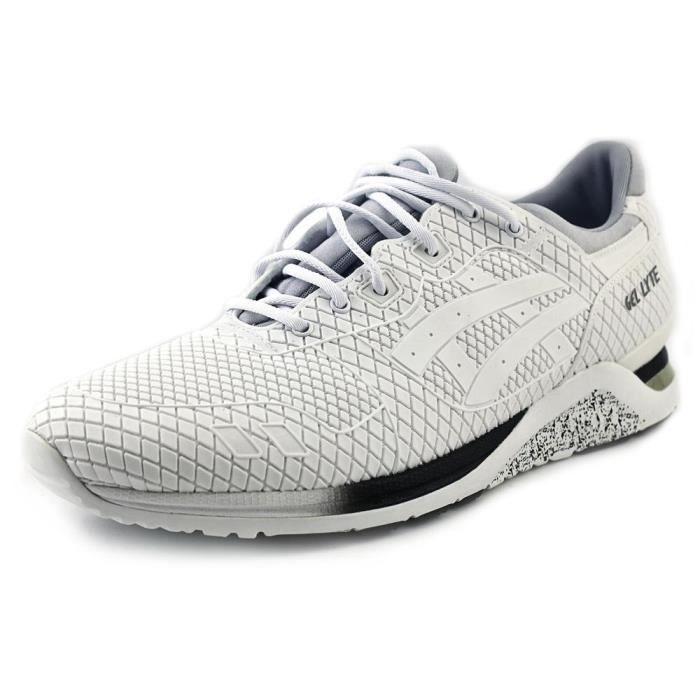 Nouveaux produits d14ca b95d5 Asics Gel-Lyte Evo Hommes Synthétique Baskets Blanc Blanc ...