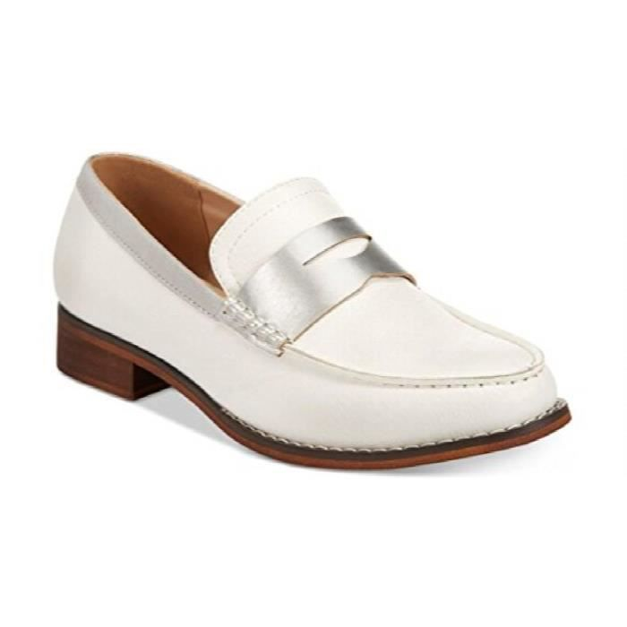 Wanted Shoes Womens Crew Closed Toe Moccasin Loafers C0T4K Taille-37 1-2