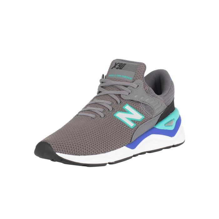new balance x90 rouge homme