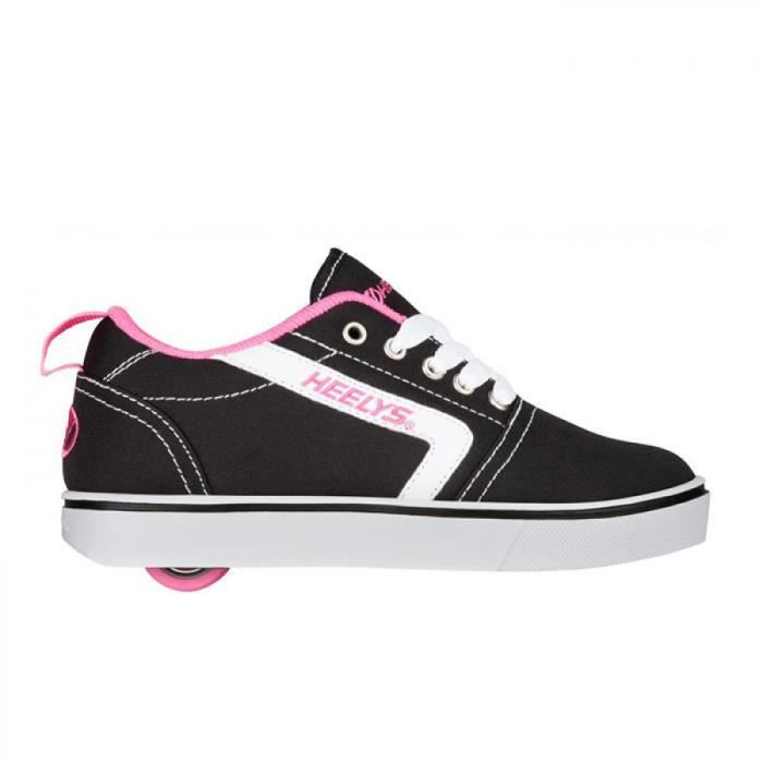 Heelys chaussure a roulette gr8 pro 100220 black white pink vTThSTYx