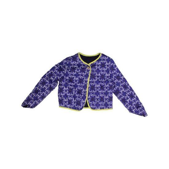 Bleu Enfant Bébé Fille Veste Vêtement Hiver Ans Ikks 1140368 6 qPXR1Sw