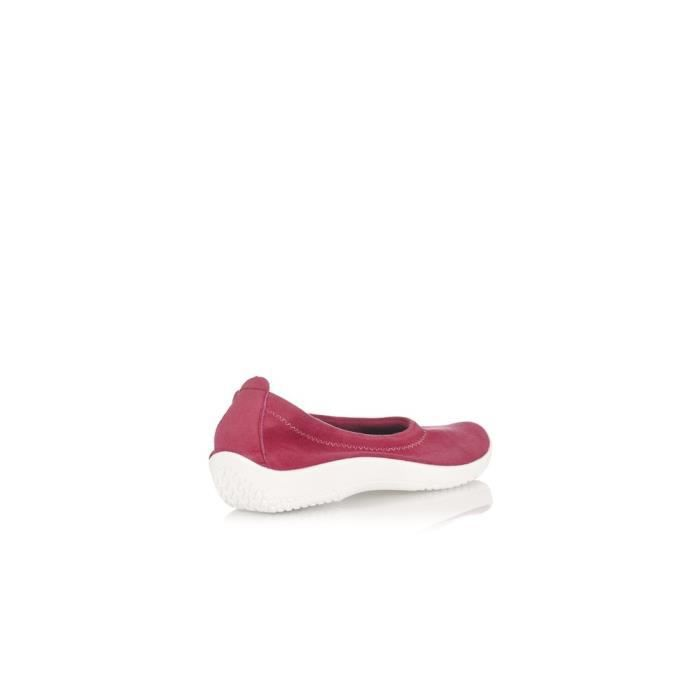 Ballerines LICRA Rouge - Color - Rouge