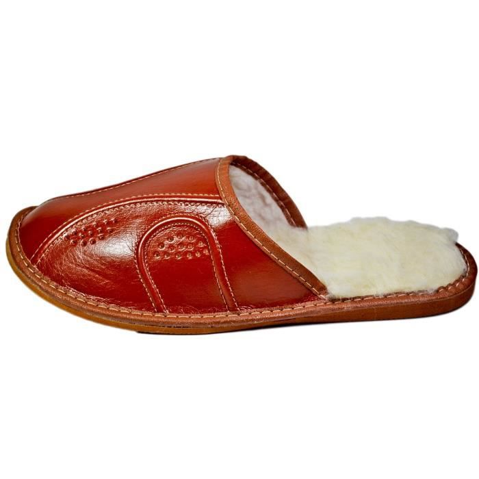 Maison chaud Hiver Chaussons Scuffs OBES2 Taille-42