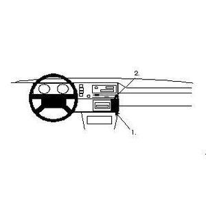 Fixation voiture ProClip Volkswagen Cabrio
