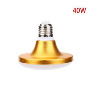 AMPOULE - LED Trois LED anti-E27 en aluminium LED Aluminium or U