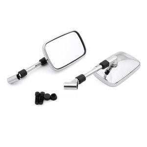 RETROVISEURS Paire Moto Rétroviseur miroir droit gauche 10mm Po