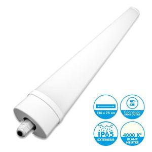 TUBE LUMINEUX Reglette Interconnectable LED Etanche 120cm 36W IP