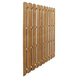 cloture panneaux bois achat vente pas cher. Black Bedroom Furniture Sets. Home Design Ideas