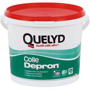 COLLE - PATE FIXATION Colle pour isolant Dépron Quelyd - Seau 6 kg