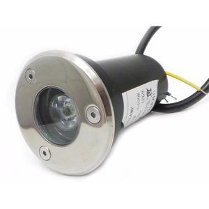 SPOT D'EXTÉRIEUR  Spot Extérieur Encastrable Sol LED 3W IP65 45
