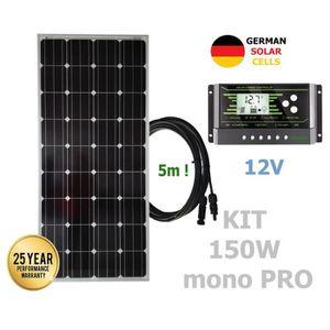 kit panneau solaire avec batterie achat vente pas cher. Black Bedroom Furniture Sets. Home Design Ideas