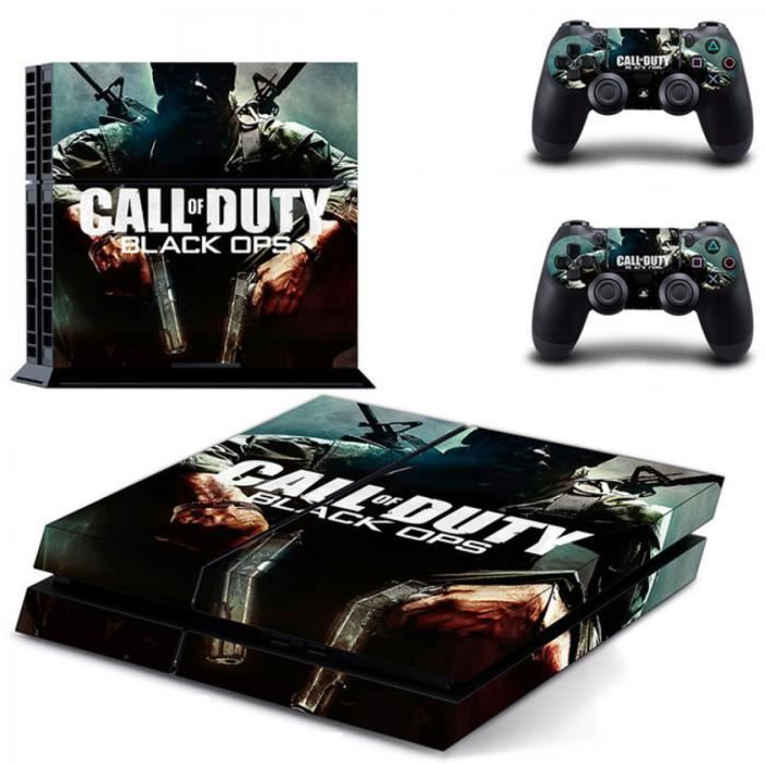 STICKER - SKIN CONSOLE Sticker-decal Autocollant Ps4 - black ops 1