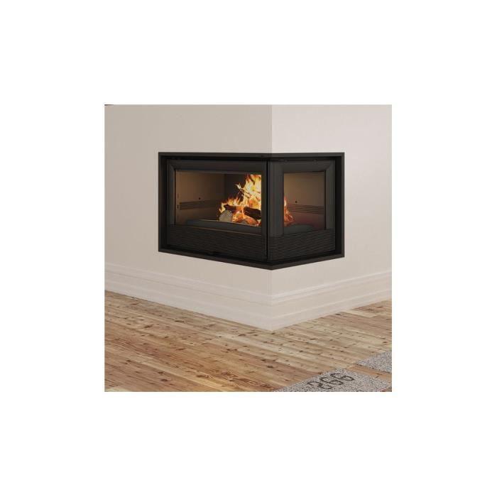 INSERT - FOYER Insert cheminée à bois Holguin avec turbine 11,5 k
