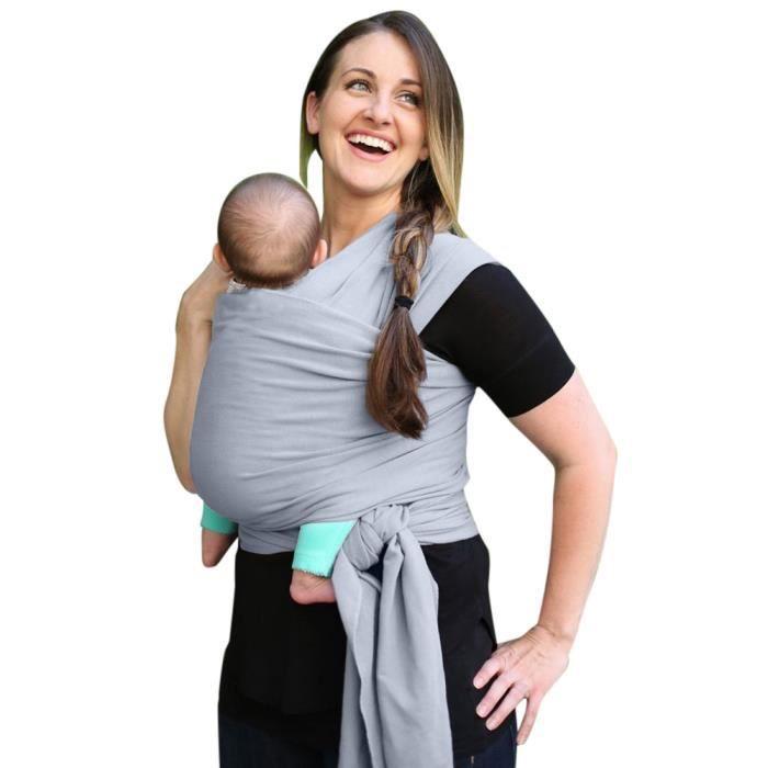 Porte-bébé Wrap allaitement réglable Couverture coton écharpe porte-bébé  Qt5695  bebe5695 21a055122dd