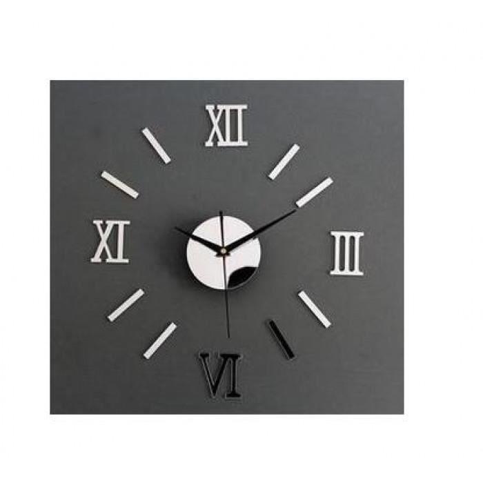 Version M - Nouvelle Arrivée 3d Décor À La Maison Diy Horloge Murale