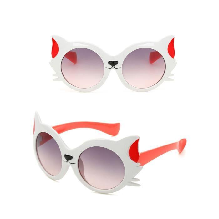 Dessin Lunettes De Soleil 1pc enfants lunettes de soleil bébé filles garçon dessin chat uv400
