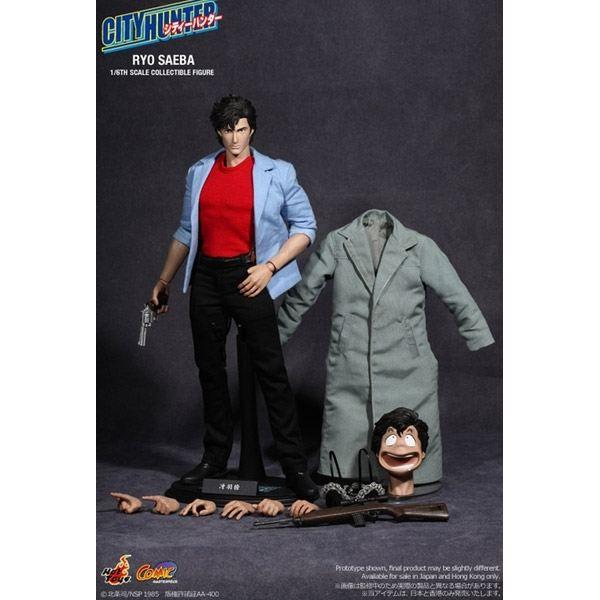 Nicky Larson City Hunter Figurine 1 6 Ryo S Achat