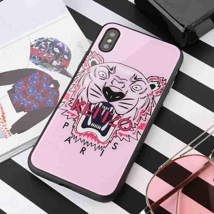 coque kenzo iphone 7 rose