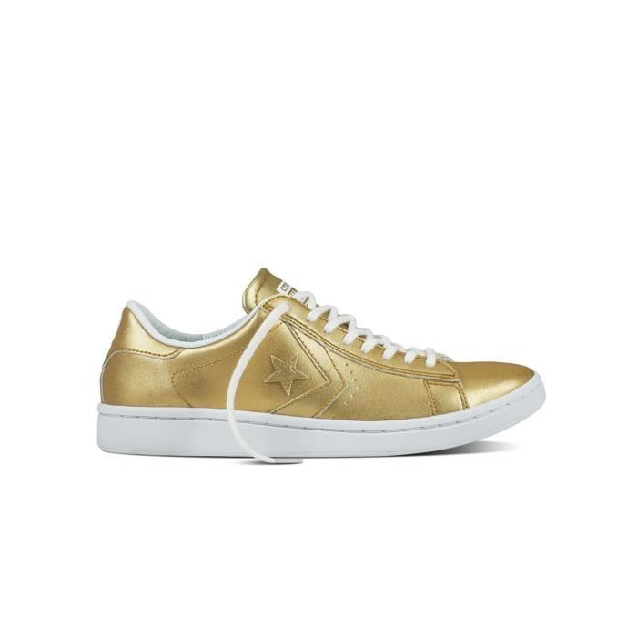Baskets Converse Pro Leather Gold