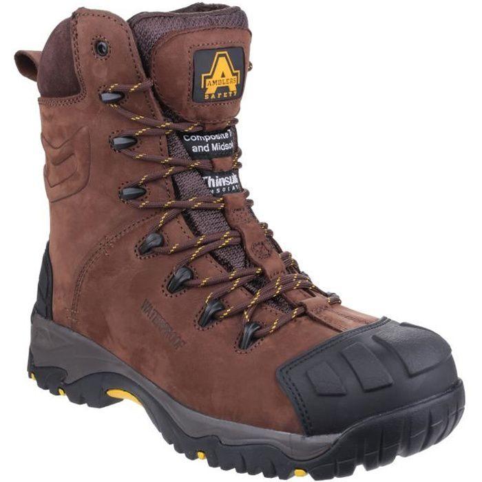 Amblers AS995 Pillar Chaussures de sécurité imperméables hautes Homme