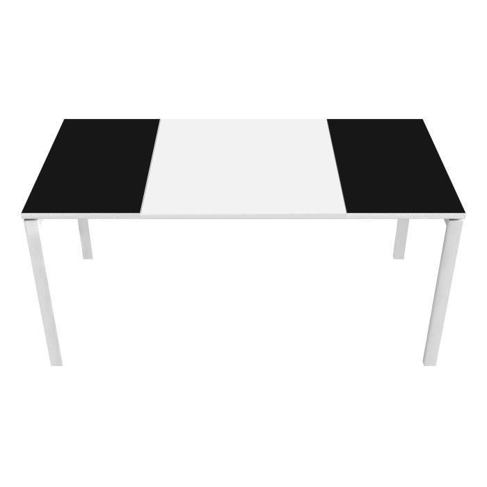 Bureau Design Easywork 160 Atylia Couleur Noir Achat Vente