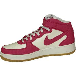Nike Air Force 1 Mid '07 LV8 - Chaussures de Basket-Ball, Couleur Rouge (Gym Red/Gym Red-White), Taille 46